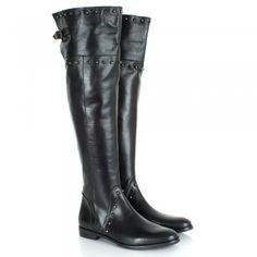 Daniel Black Bairstow Women's Flat Over Knee Boot