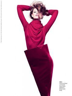Frida Gustavsson for Bon International catalog (Summer 2010) photo shoot