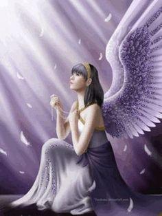 """@solitalo Enciende una vela blanca y luego puedes invocar a tu ángel repitiendo la siguiente oración: """"Querido ángel de la guarda, mensajero permanente del amor; quiero comunicarte mi deseo de mejo..."""