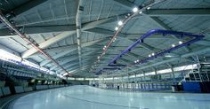 Our structural precast and prestressed concrete components were used to shorten the on-site time and reduce the site footprint during the construction of the Olympic Oval in Calgary, Alberta.