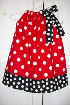 Hey, I found this really awesome Etsy listing at http://www.etsy.com/listing/71220060/pillowcase-dress-minnie-mouse-dots-red
