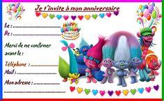 Anniversaire : Etiquettes cadeaux et invitations LES TROLLS pour les anniversaires des enfants http://nounoudunord.centerblog.net/4587-etiquettes-et-invitations-les-trolls-pour-anniversaire