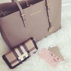 MK , Bags, Shoes, Fashion and everything else. #fashion, #love - www.dbfashionbox.com ✿. ☺