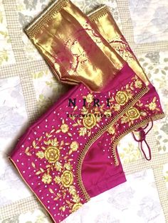 Zardosi Work, Maggam Works, Blouse Designs, Stockings, Holiday Decor, Wedding, Home Decor, Socks, Valentines Day Weddings
