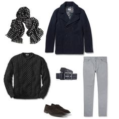How to Accessorise #Men's #Houndstooth #Accessories This Autumn - #Houndstooth #cashmere #scarf