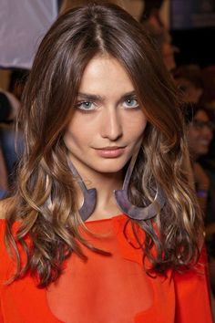 Hair Colour Trend 2013: this colour has been popular through 2012, and it will be highly demanded this year.