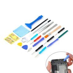 22 in 1 Open Pry mobile phone Repair Screwdrivers Sucker hand Tools set Kit For Cell Phone Tablet