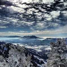 Powder mountain ski resort eden utah amazingly this picture still doesn't do it full justice