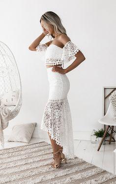 CELINE LACE SET WHITE – PRE-ORDER – Renesmee's