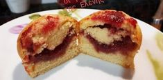 Κεκάκια γεμιστά με μαρμελάδα φράουλα Food To Make, French Toast, Muffin, Pudding, Breakfast, Desserts, Recipes, Vases, Flan