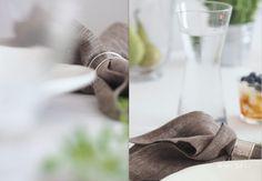 Himla napkins & Iittala glassware