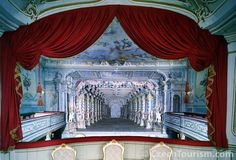 One of 4 baroque theaters left in Europe. Located in Cesksy Krumlov, Czech…