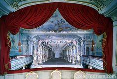 One of 4 baroque theaters left in Europe. Located in Cesksy Krumlov, Czech…