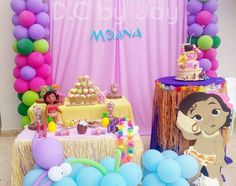 Moana birthday  decoration  baby moana