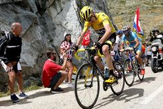 Chris Froome effectively sealed a second Tour de France title but admitted to moments of anxiety as he came under a thrilling, late attack from Nairo Quintana in the final climb to Alpe-d'Huez. When he rides into Paris tomorrow, Froome will become the first British rider in history to win a second Tour, on top of his 2013 triumph. With Sir Bradley Wiggins' victory in 2012, Team Sky riders have won the yellow jersey, the sport's most prestigious prize, three times in four years.