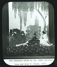 Citation: The constant lover, 1917 / unidentified photographer. Center for Creative Studies records, Archives of American Art, Smithsonian Institution.