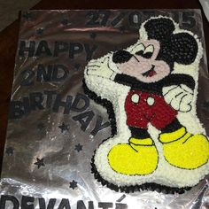 Mickey Mouse Icing cake 🐭