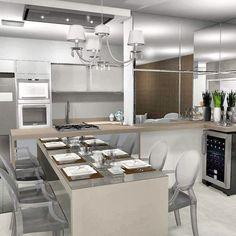 Mais um render do projeto postado anteriormente. Loft feito por mim e minhas coleguinhas inspirado nas cores e texturas do inverno de Nova York! ❤  #designdeinteriores #design #interiordesign #kitchen #newyork #projeto