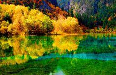 Đến Cửu Trại Câu vào mùa đẹp nhất trong năm