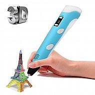 Creopop 3D printing pen. The world's first 3D pen with cool ink, so you can draw right onto your own skin. With magnetic, aeromatic, glitter, and glow in the dark ink there is almost no end to what you can create!