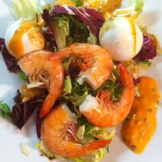 Salad with real italian mozzarella!
