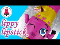 Easy Lippy Lips Lipstick Shopkins Character Cake - How To With The Icing Artist. Link download: http://www.getlinkyoutube.com/watch?v=6KPzYkueytM
