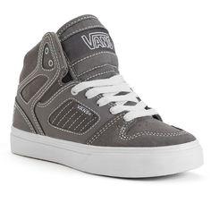 Vans Allred Checkered High-Top Skate Shoes - Boys,