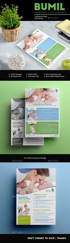 Surrogacy Healty Flyer