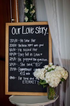 i don't know who's love story is so simple or moves so quickly, but the idea is cute! mine and houston's would be wayyyy longer than that and over a period of atleast seven years!