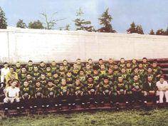 1941 UO varsity football team.  From the 1942 Oregana (University of Oregon yearbook).  www.CampusAttic.com