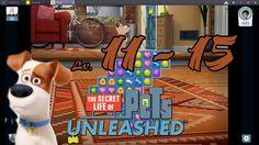 Pets Unleashed - Level 11 - 15 (1080p/60fps)