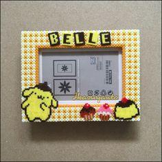 Pompompurin photo frame for a girl name Belle