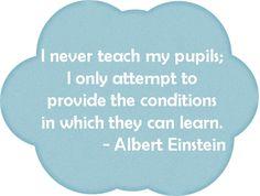 Our favorite Einstein quote. Spark Quotes, Einstein Quotes, Albert Einstein, Classroom Ideas, Inspirational Quotes, Inspire, Teaching, Education, Words