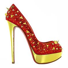 Very Mix 140 Peep Toe Pumps Red