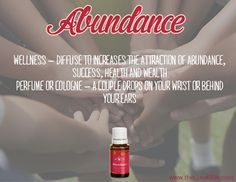 Some people put a drop on their wallet, others diffuse it as they work. How do you use Abundance essential oil? Young Living Oils, Young Living Essential Oils, What Is It Called, Facebook Sign Up, Law Of Attraction, Live Life, Abundance, Eos, Wealth