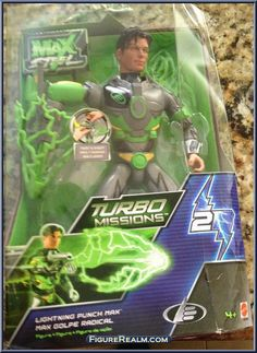 Max Steel toys 2000 | Lightning Punch Max from Max Steel - Turbo Missions manufactured by ...