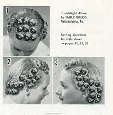 Vintage Hairstyles Curls Pin curl setting, this one is great for longer hair. If your hair is really thick or long just add an extra row of curls in the back, behind ears. Vintage Haircuts, 1940s Hairstyles, Hairstyles Haircuts, Sleep Hairstyles, Wedding Hairstyles, Pin Up Hair, Hair Pins, Pin Curls Long Hair, Bobby Pin Curls
