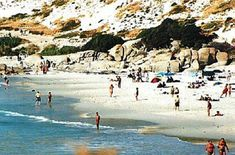 Sandy Bay Beach in Cape Town South Africa Cape Town South Africa, Nude Beach, Travel Magazines, Beaches In The World, Beautiful Islands, Greek Islands, South America, Surfing, Paradise