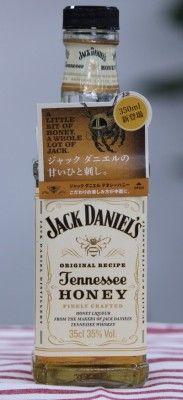 蜂蜜の香りと味が漂うフレーバー ウイスキー  ジャック ダニエル テネシーハニー