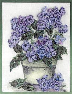Hydrangea Embroidery Kit | Di van Niekerk
