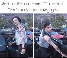 Imagine Andy saying this to you!!! I am right now and I had a heartattack lol I love him ~~~~