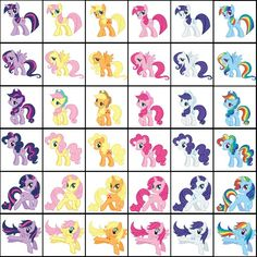 Everyone looks good as Applejack or Fluttershy, but noone but the original looks good as Twilight, Rainbow Dash, Rarity, or Pinkie Pie.