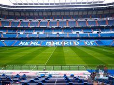 Visiting Real Madrid Stadium. Tour Bernabeu.