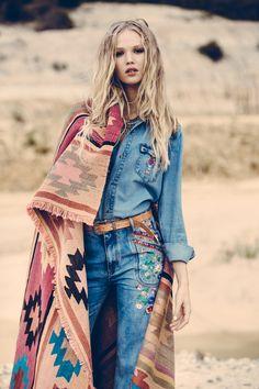 ☮ Bohemian Style ╰☆╮Boho chic bohemian boho style hippy hippie chic bohème vibe…