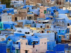 The most colorful cities in the world - JODHPUR, INDIA