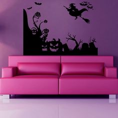 Decorate your home with these beautiful and affordable vinyl decals for your walls. The decals are easy to apply and make a room look elegant. With a paint-like appearance, these vinyl decals will com