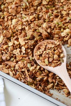 9. Grain-Free Granola #healthy #granola #recipes http://greatist.com/eat/homemade-granola-recipes-that-are-healthy