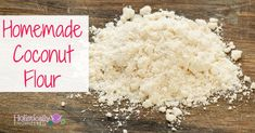 Have you ever wanted to learn how to make coconut flour? The other day I showed you how easy it is to make homemade coconut milk (check it out here if you missed it) without any guar gum or other added preservatives. After making the coconut milk, the coconut pulp is leftover and can be...Read More »
