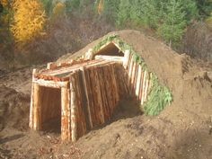 The thing is, you can't see how awesome this underground shelter/bunker is from this photo alone, nor can you see how simple and straightforward it is to build if you have basic DIY skills… A shelter like this would great for your secret bug-out location. This is a about as low-tech as it gets, this …