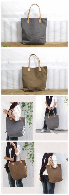 Personalized Tote Bags, Canvas Shoulder Bag, Monogram Logo, Custom Bags, Shopping Bag, Popular, Knitting, Fabric, Leather